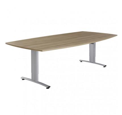 Vergadertafel tonvorm Basic