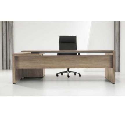 Directiebureau Manager L-vorm + Ladenblok 230cm