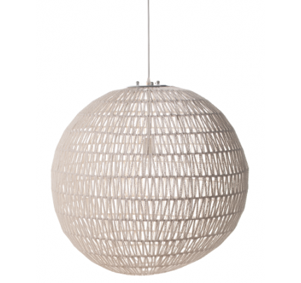 Hanglamp rond wit