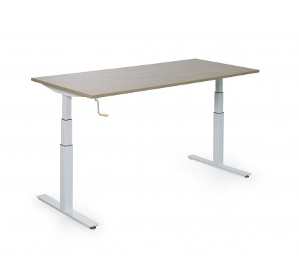 Slinger verstelbaar bureau Matrix Single Frame