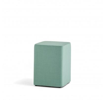 Hoge vierkante poef Wow 320 - groene poef kopen