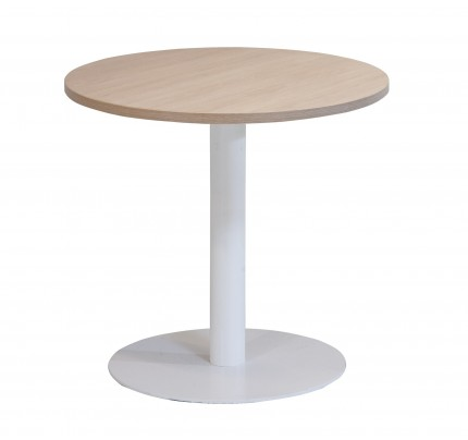 Kolomtafel met ronde voet