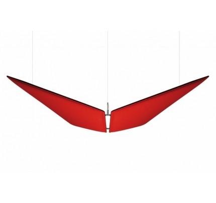 Akoestisch plafondpaneel V-Flap