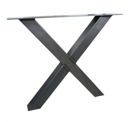 Industriële tafelonderstel X-poot standaard
