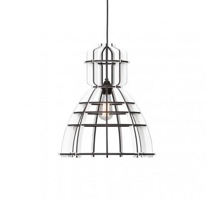 No. 19 Industriële hanglamp wit