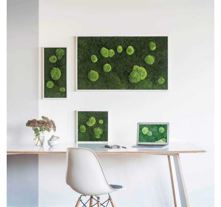Forest en Pole Mosschilderij