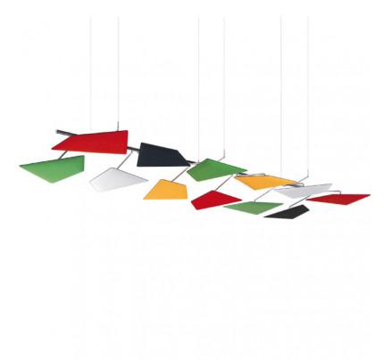 Akoestisch plafondpaneel Flap
