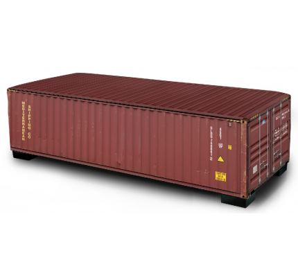 Hocker/zitbank recht container