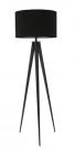 Vloerlamp met zwarte kap - MV Kantoor