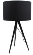 Tafellamp met zwarte kap - bureaulampen
