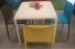 Terrastafel Snow 301 (kantinetafels) - witte tafel - bedrijfskantine inrichting