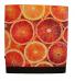 Coupe bank voor aula inrichting - zit-en wandbanken - kantine bank - sinaasappels