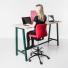 Hoge tafel bureaustoel