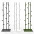 Stalen kapstok bamboo