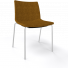 Stoel Point Maxi Gestoffeerd - kantinestoel met brede zitting