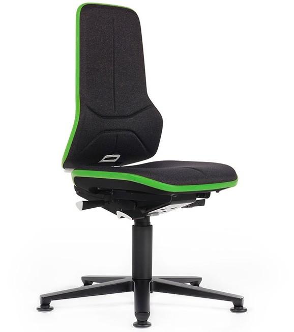 Bureaustoel Zonder Armleuning.Werkplaatsstoel Esd Neon 1 2 Mv Kantoor