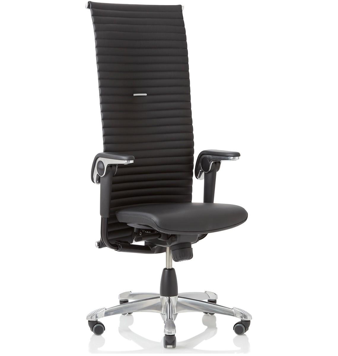 Luxe Leren Bureaustoel.Bureaustoel Hag Excellence Leder Directiestoelen Kopen Mv Kantoor