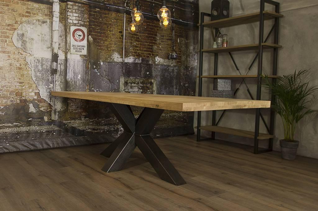 Industrieel Tafel Onderstel : Industriële tafel matrix robuuste tafels mv kantoor
