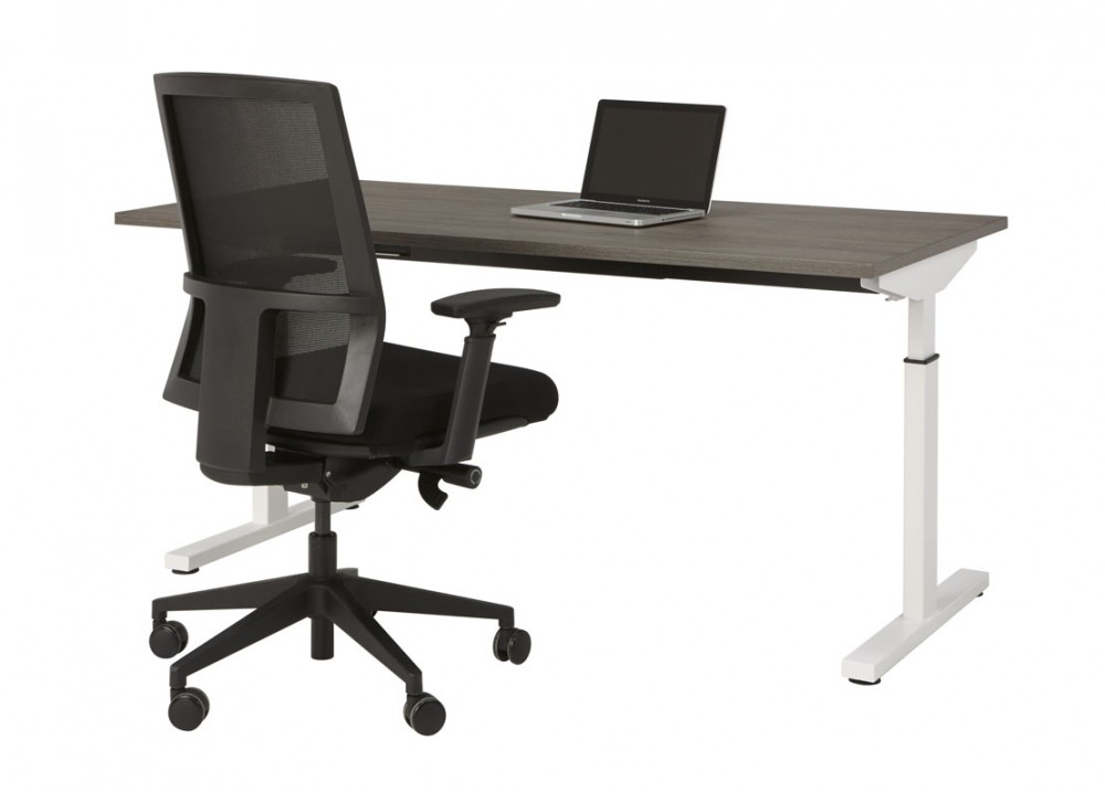 Hoogte instelbaar bureau easy bureaus vergadertafels mv kantoor