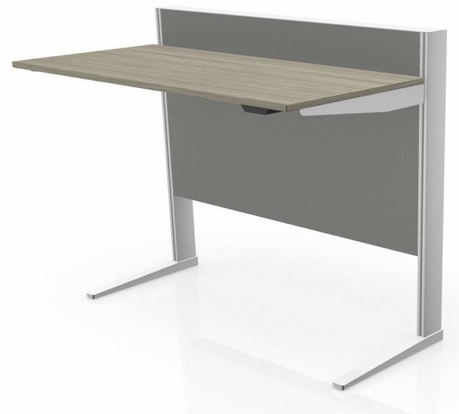 zit sta bureau max t range in hoogte verstelbaar bureau mv kantoor. Black Bedroom Furniture Sets. Home Design Ideas