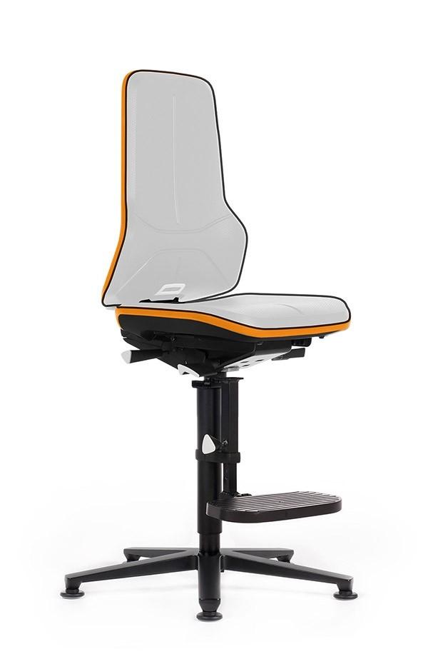 hoge laboratorium stoel neon 3 mv kantoor. Black Bedroom Furniture Sets. Home Design Ideas