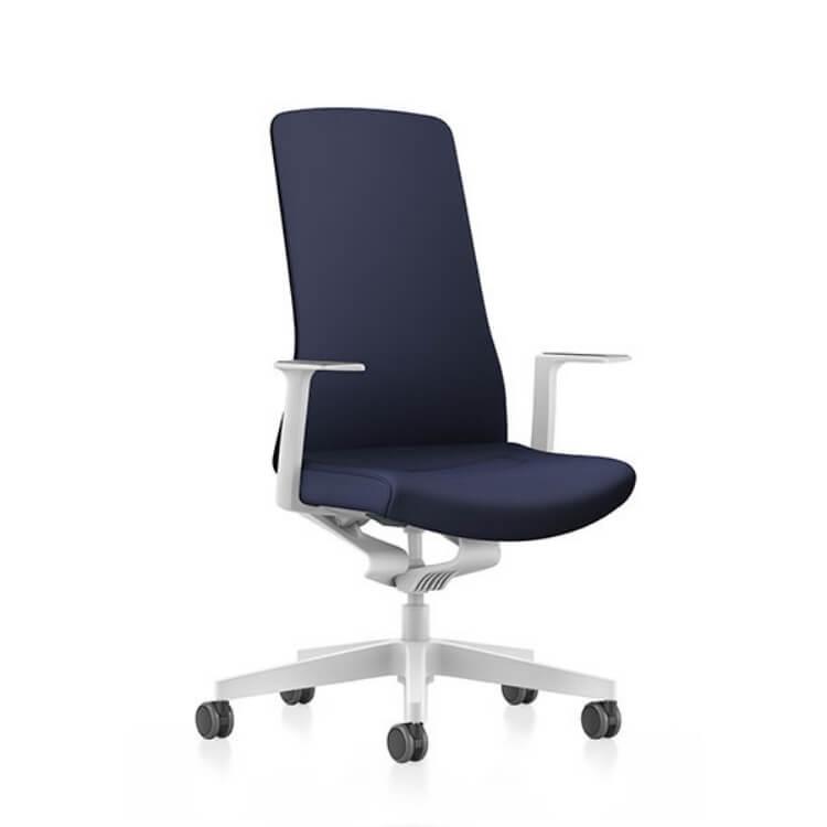 Design Bureaustoel Wit.Actiemodel Bureaustoel Pure 113 Bureaustoelen Kopen Mv Kantoor