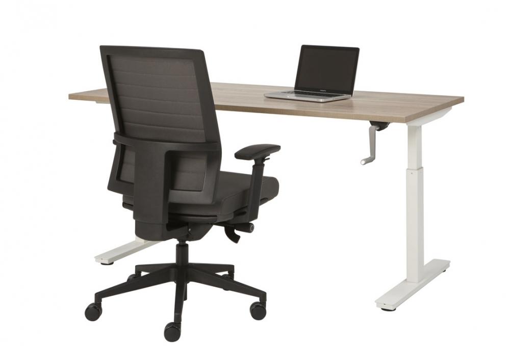 Slinger bureau 60 88cm in hoogte verstelbaar bureau mv kantoor