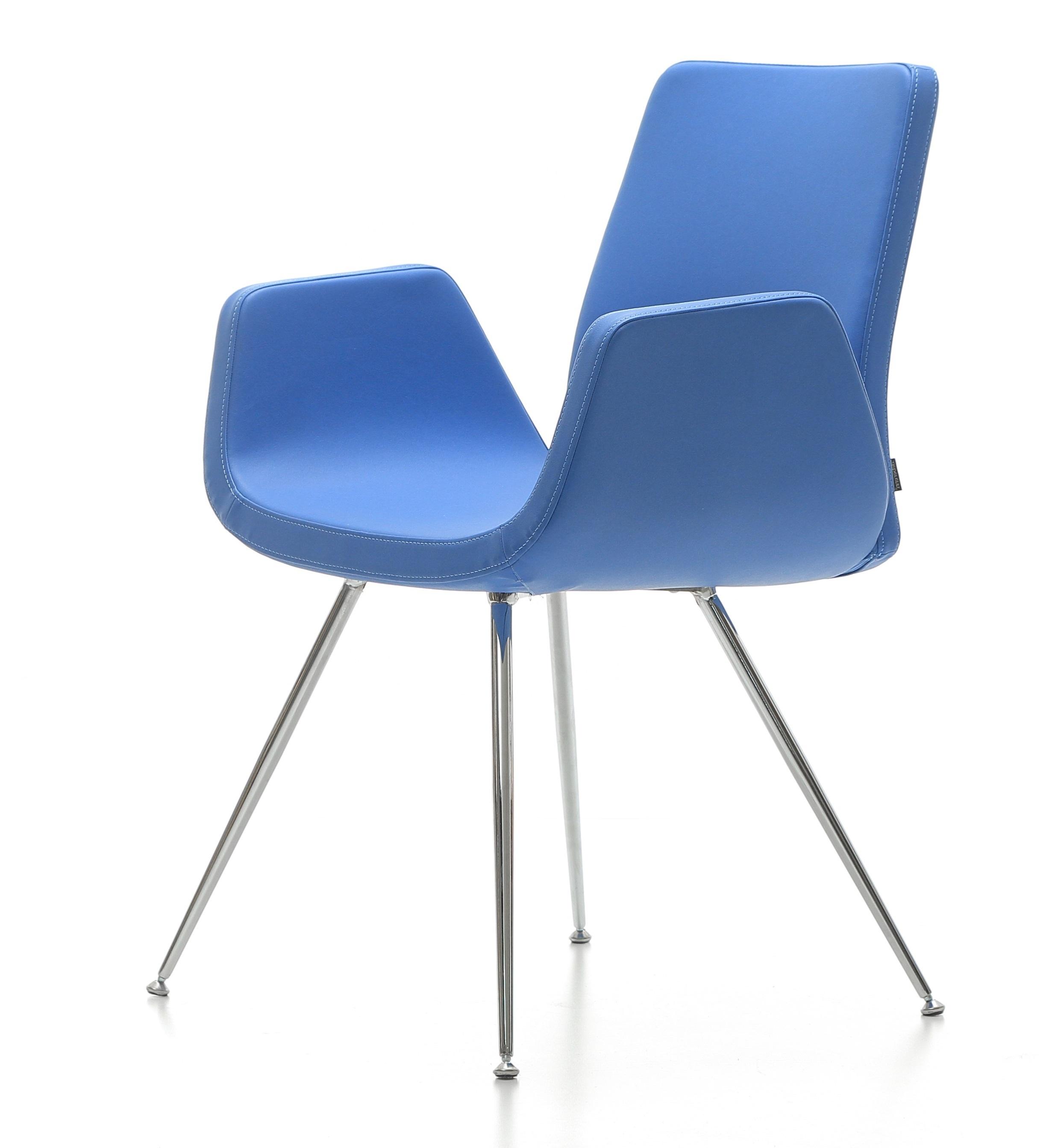 Blauwe Design Stoelen.Tijdloze Stoel Nero Hs831