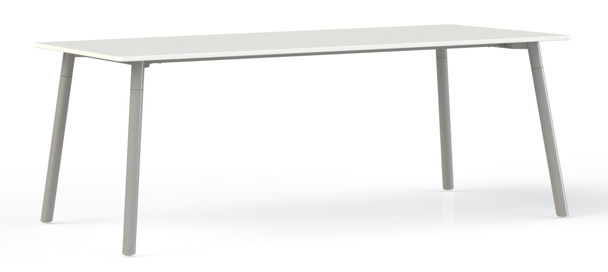 Corner vergadertafel rechthoek kantinetafels for Tafel samenstellen