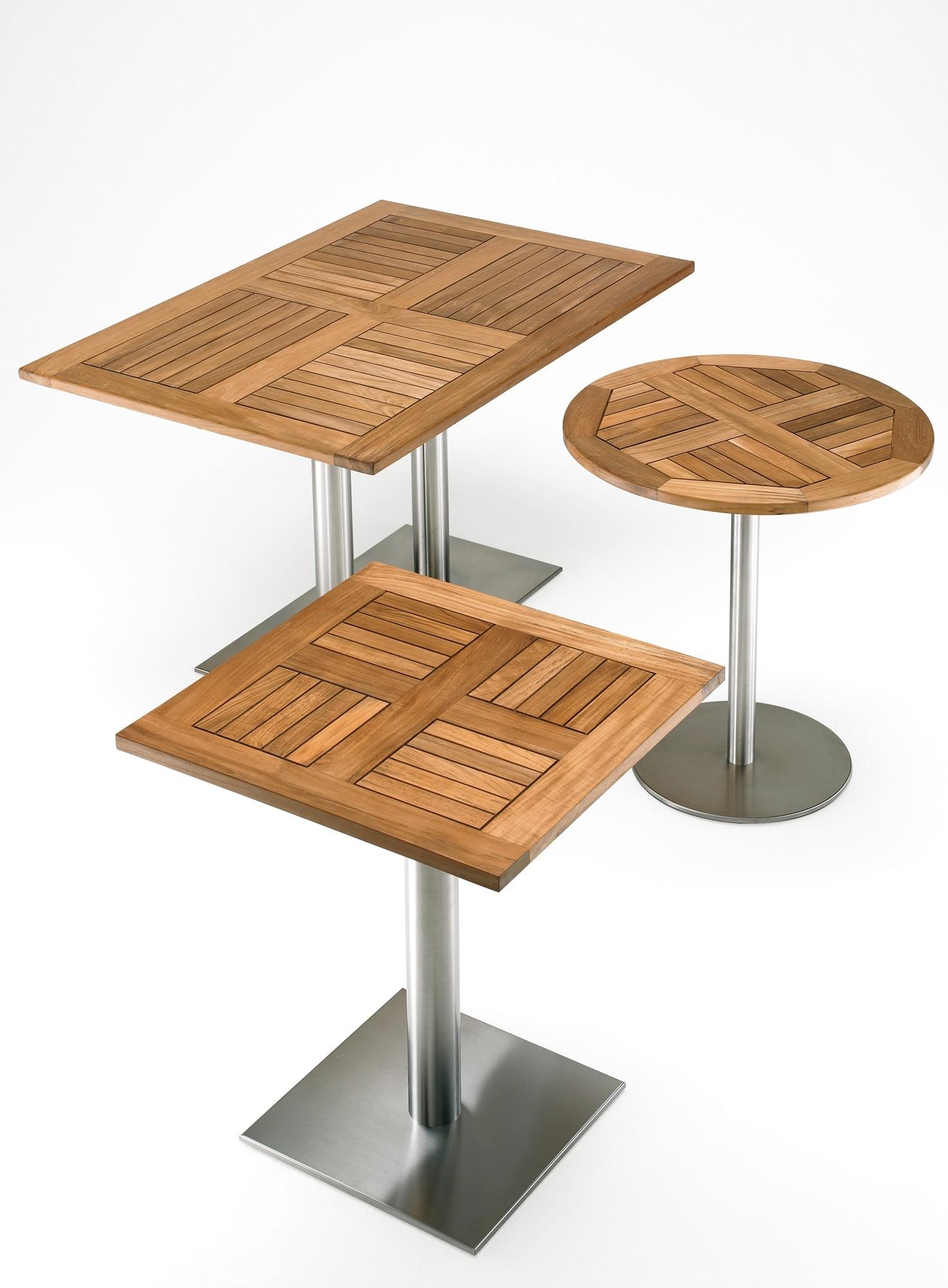 Tafelblad teak losse houten tafelbladen mv kantoor for Tafel samenstellen