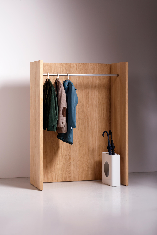 Kapstok team panel garderobe elementen mv kantoor for Paneel garderobe