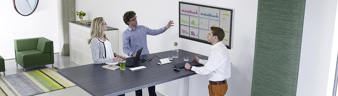 Staand vergaderen: sneller, efficiënter en kostenbesparend.