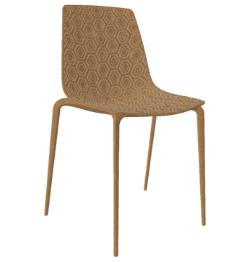 Honey Eco gerecyclede stoel