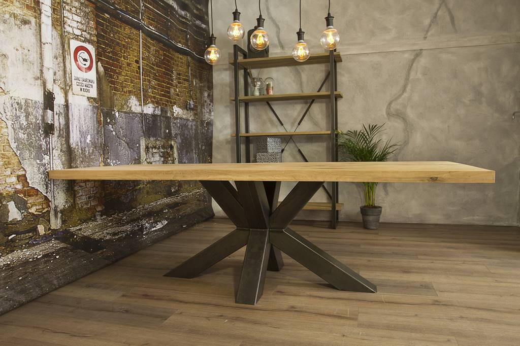 Nieuws trend alert industriële houten tafels