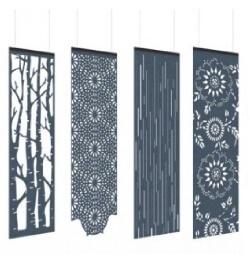 Akoestische hangende panelen