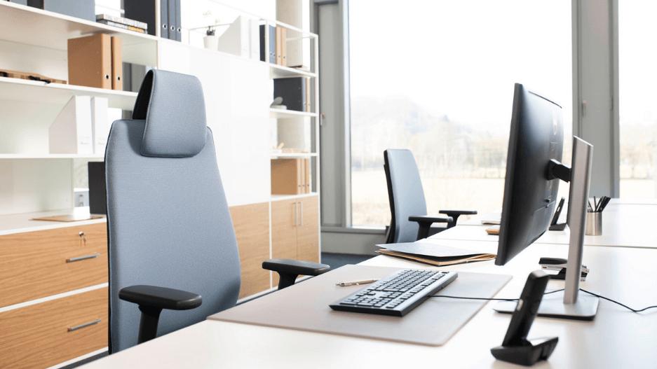 Joyce bureaustoel werkplek