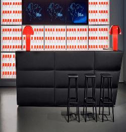 Kunststof balie Oblique