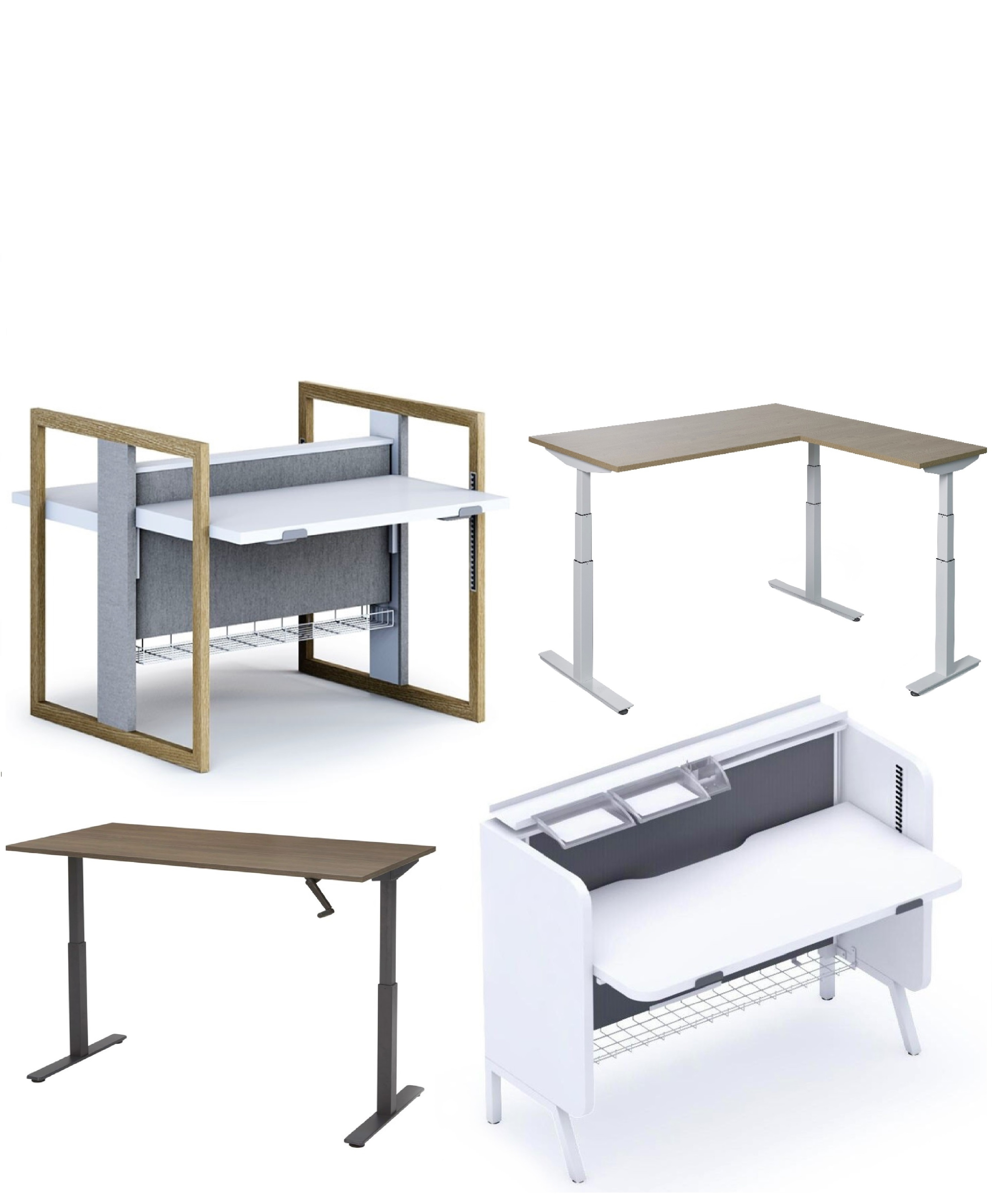 Type zit-sta bureaus