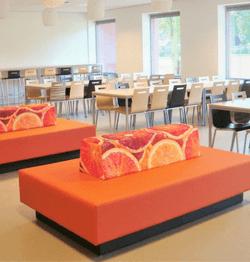 Ziteiland met sinaasappel afbeelding